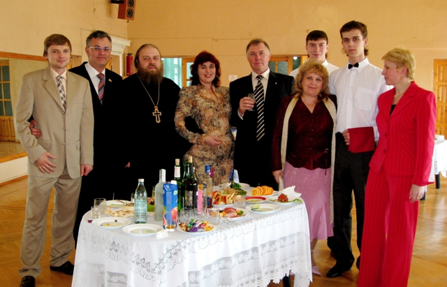 Юбилей Тогрового техникума ПОДАРКИ от ЭЛИТ+ (2008)
