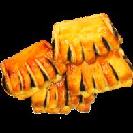 Печенье слоеное Гребешок с маком